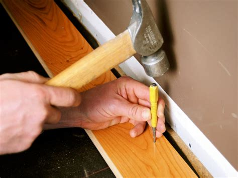 hardwood flooring nails how to install prefinished solid hardwood flooring how tos diy