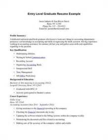 professional summary for entry level resume entry level resume summary exles related