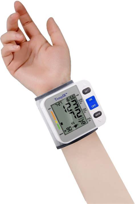 Wrist Blood Pressure Monitor | TempIR