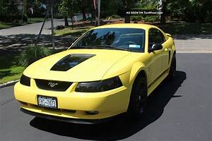2001 Ford Mustang Base Coupe 2 - Door 3. 8l