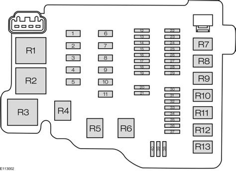 2012 Ford Fuse Box Diagram by Ford From 2012 Fuse Box Diagram Eu Version