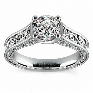 antique style wedding rings that are conflict free With topazery antique wedding rings
