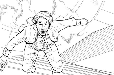 Yep, There Is A 'die Hard' Adult Coloring Book