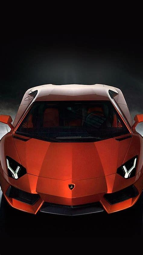 Red Lamborghini Car Mobile Phone Wallpapers Hd 1440x2560