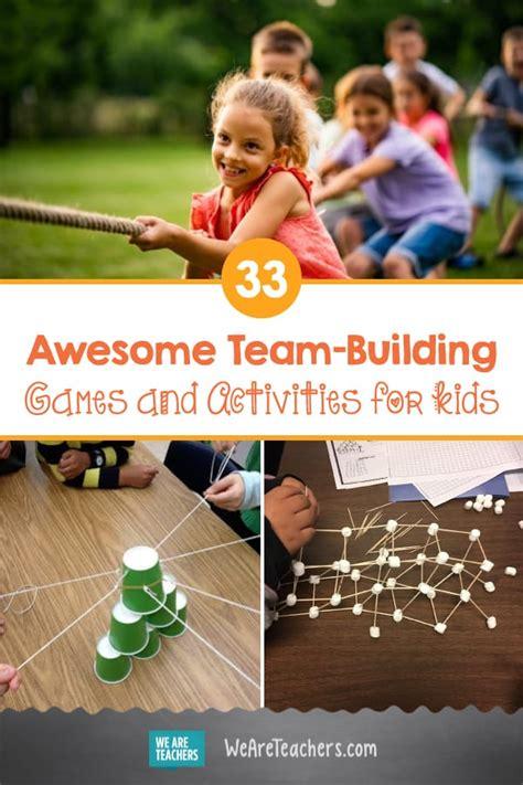 team building games  activities   classroom