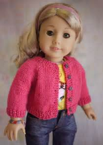 American Girl Doll Knitted Sweater Pattern