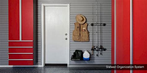garage organizers shelving wall racks slatwall