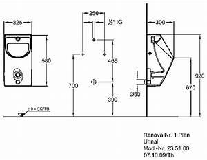 Keramag Renova Nr 1 : keramag renova nr 1 plan urinal ku42 hitoiro ~ Bigdaddyawards.com Haus und Dekorationen
