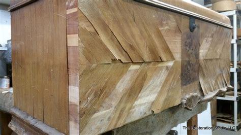 replace wood veneer  furniture tutorial