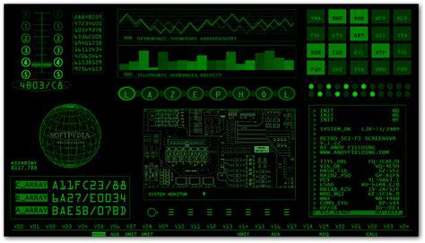 Retro Sci-Fi Screensaver