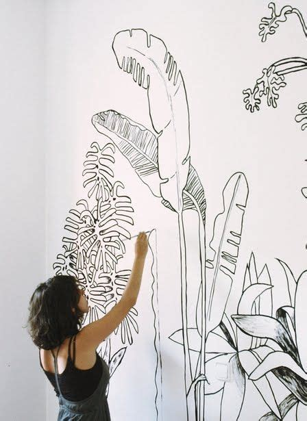 drawing decoration 25 best ideas about wall drawing on mandala Wall