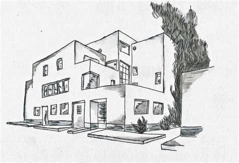maison architecte dessin maison moderne