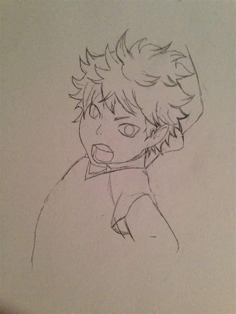 drawing hinata  haikyuu anime amino