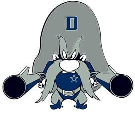 Dallas Cowboys Cartoon Character
