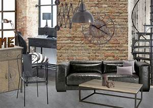 la decoration style industriel 5 facons de transformer With decoration interieur style industriel