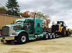 Semitrckn — Kenworth custom T800 heavy haul | 18 Wheels ...