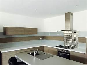 Pose Credence Verre : poser une credence en verre maison design ~ Premium-room.com Idées de Décoration