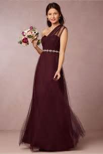 burgundy bridesmaid dresses dress journal - Bridesmaid Dresses In Burgundy