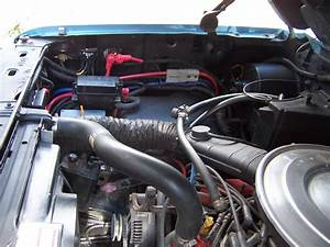 Cleaning Up Engine Compartment