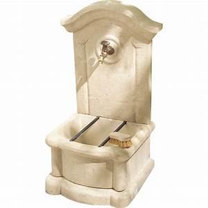 Fontaine D Exterieur En Pierre : fontaine de jardin en pierre reconstitu e pierre vieillie ~ Premium-room.com Idées de Décoration