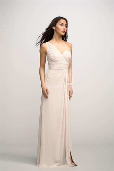 beautiful  shoulder chiffon bridesmaid dresses fashion