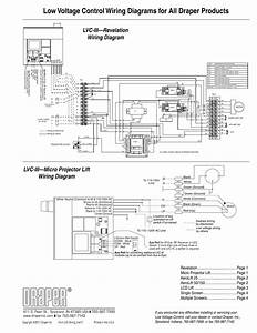 Low Voltage Control Wiring Diagrams For All Draper Products