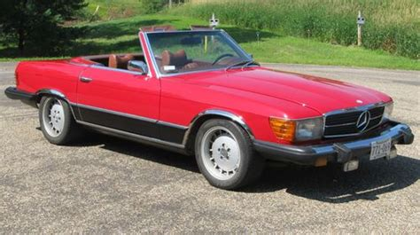 mercedes chatfield find used mercedes benz 450sl beautiful red convertible in chatfield minnesota united states
