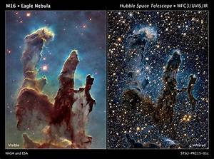 Iconic Pillars of Creation Look Spectacular in New Hubble ...
