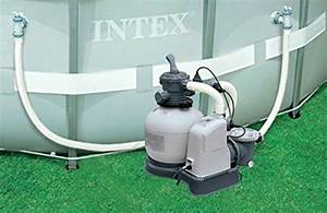 Intex 120v Krystal Clear Sand Filter Pump U0026saltwater System