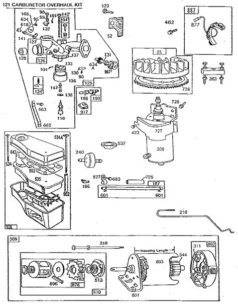 briggs and stratton 14 5 hp diagram briggs free engine