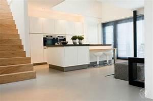 Industrieboden Im Wohnbereich : fusion collectie tweekleurige gietvloeren senso gietvloer ~ Michelbontemps.com Haus und Dekorationen