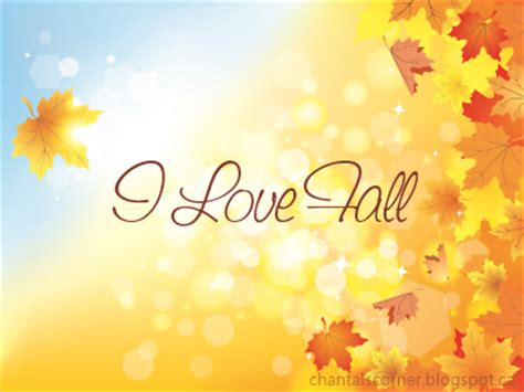 """i Love Fall"" Tag  Writing Whimsy"