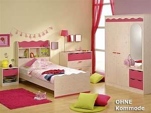 Regal über Bett : kinderzimmer lotta 1 kiefer nb pink schrank bett nachtkommode regal ebay ~ Markanthonyermac.com Haus und Dekorationen