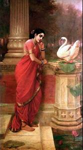 The Office Thank You Oil Paintings Of Raja Ravi Varma World Famous Indian Painter