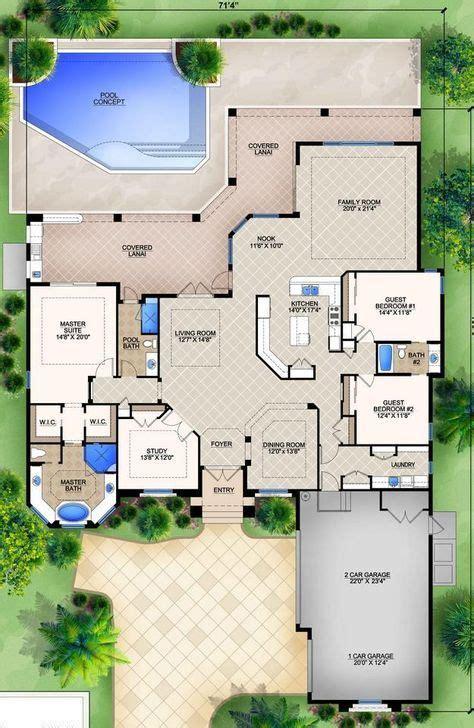 House Plan 5565 00006 Luxury Plan: 3 182 Square Feet 3