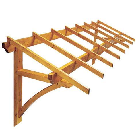 marquise en bois pour porte de garage 4m 178 firenze jardipolys bricozor