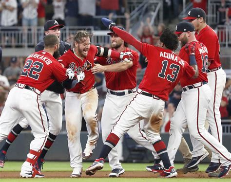 Donaldson's 9th-inning single lifts Braves over Nats 4-3 ...
