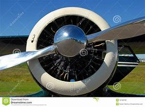 Airplane Nose Stock Photo  Image Of Aircraft  Propeller