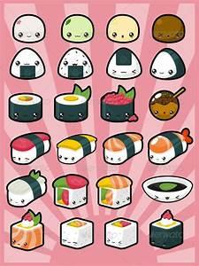 Kawaii Pack 3: Japanese Food | GraphicRiver