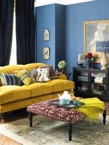 Living Room Decor Yellow Picture