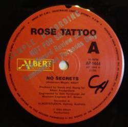 rose tattoo discografia completa albumes