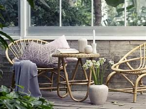 Salon Rotin Exterieur : salon de jardin elegant en rotin deco exterieur ~ Teatrodelosmanantiales.com Idées de Décoration