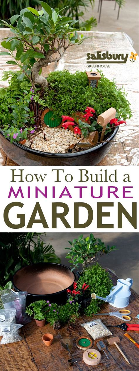how to make garden miniature fairy gardens picmia