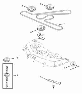 27 John Deere Z425 Drive Belt Diagram