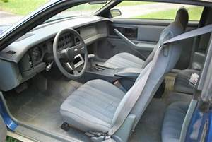Car Manuals Free Online 1986 Pontiac Firebird Interior