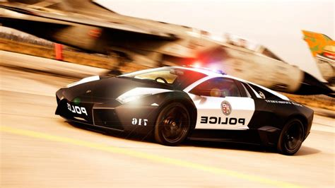 Lamborghini Police Car Wallpaper