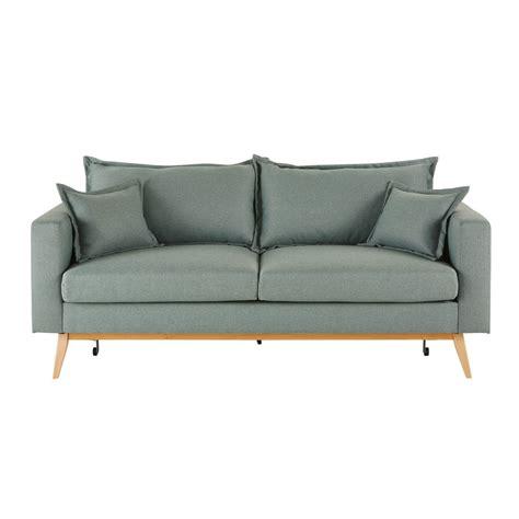 sofa color verde agua los mejores sof 225 cama