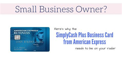 simplycash  business credit card  american express
