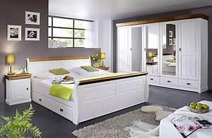 Komplettes Schlafzimmer Kaufen : schlafzimmer wei honig kiefer m bel massivholz ~ Watch28wear.com Haus und Dekorationen