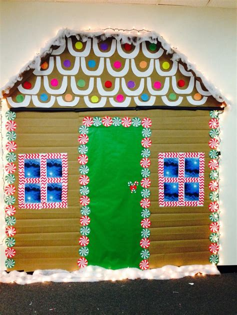 life size gingerbread house   office gingerbread